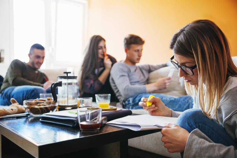 Cómo es la vida en una residencia de estudiantes
