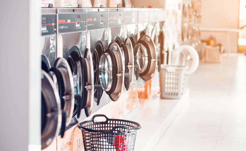 La popularidad de las lavanderías automáticas